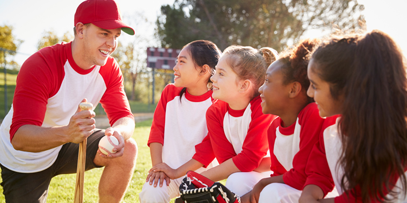 coaching little league