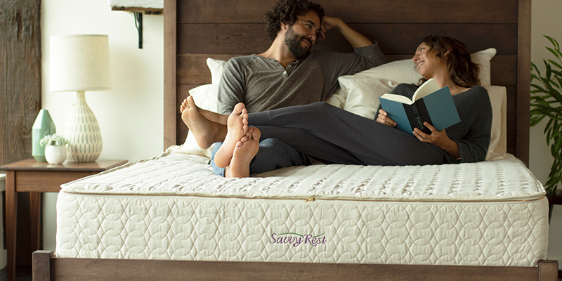 detoxify your bedroom with an organic mattress