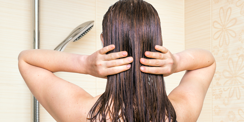 natural coconut oil hair treatment