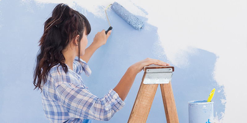 benefits of zero-VOC paints