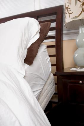 Adjustable bed, head up