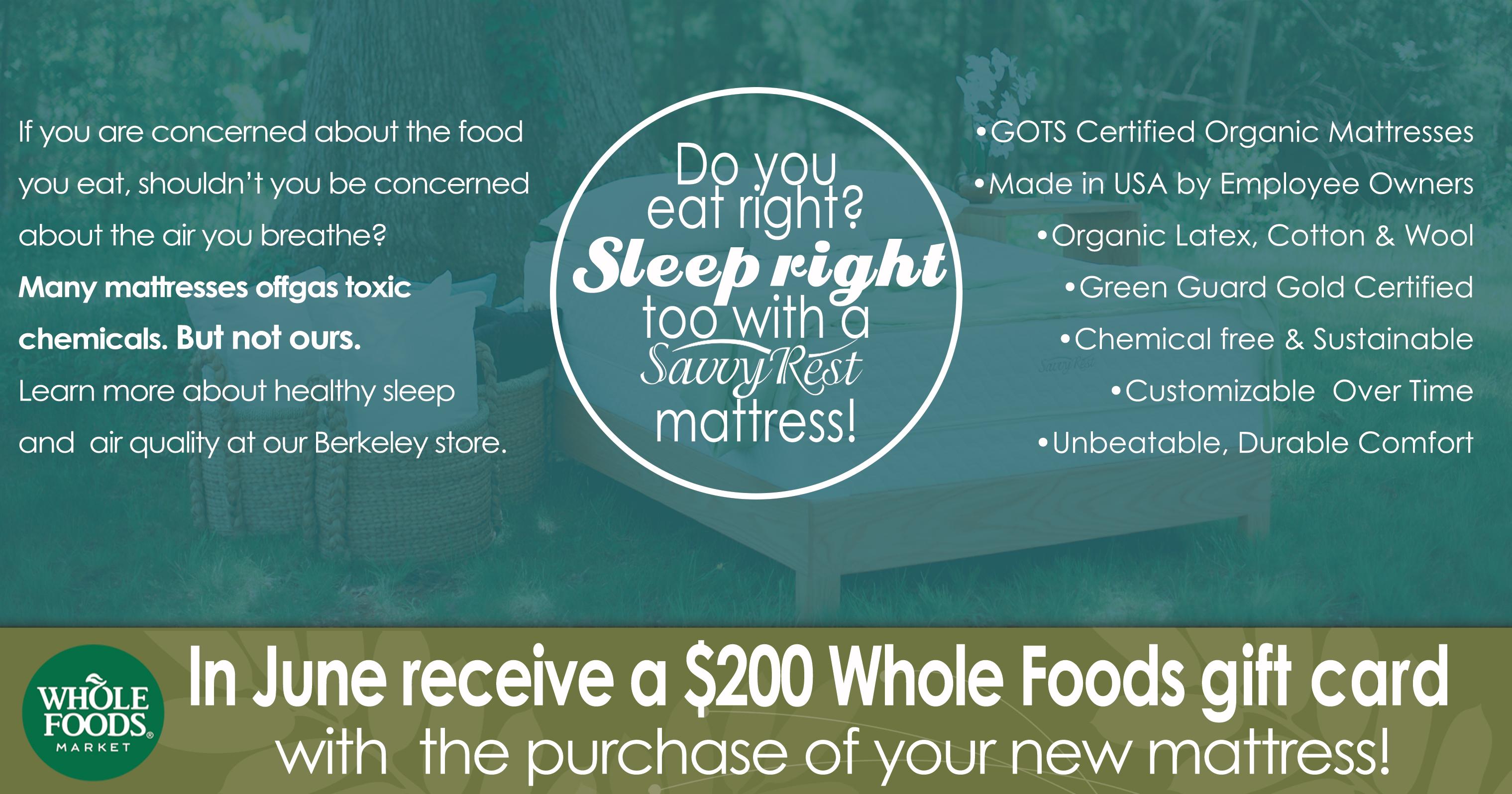 Whole Food Promotion Berkeley