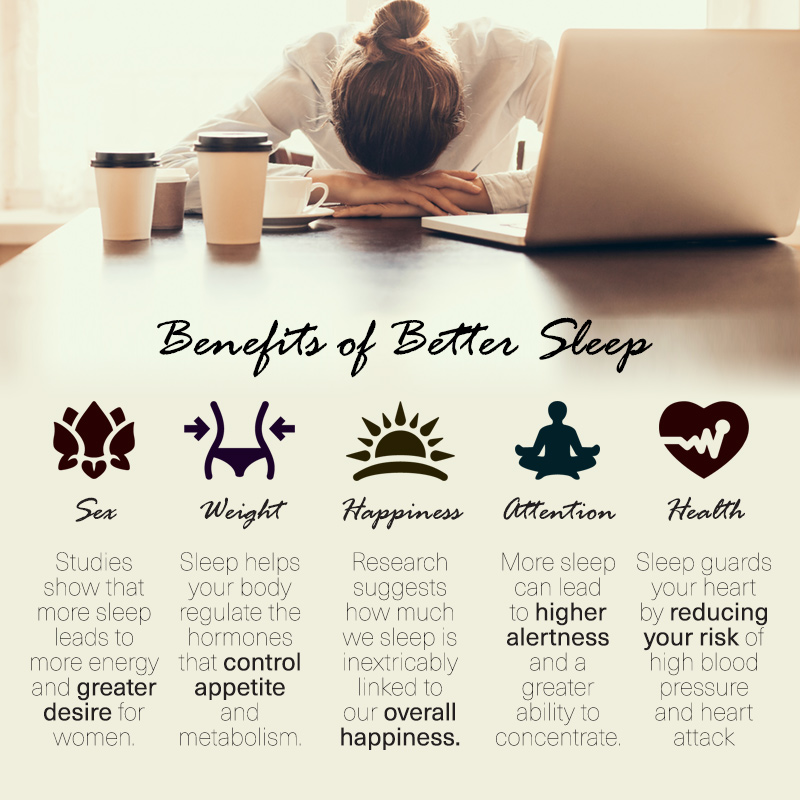 benefits of sleep infographic