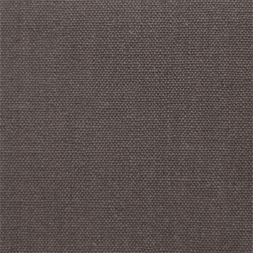 organic hemp/cotton blend dark brown sofa fabric