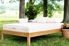 Natural latex innerspring mattress, the Earthspring, from Savvy Rest