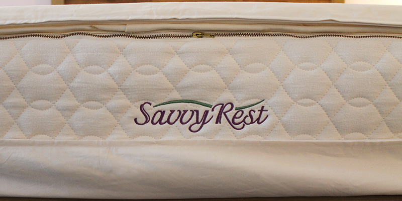 Savvy Rest organic mattress allergy protector