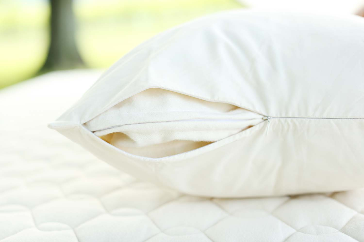 Allergy Pillow Covers Made With Organic Cotton Savvy Rest
