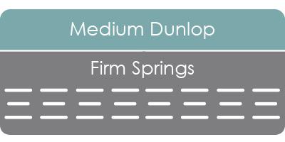 Savvy Rest organic Dunlop spring mattress
