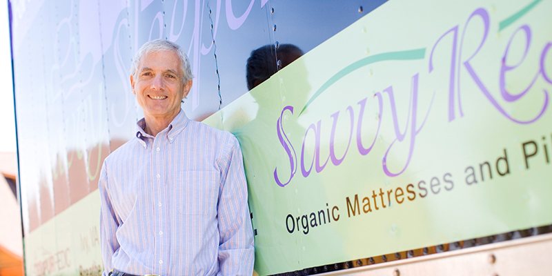 Savvy Rest founder Michael Penny