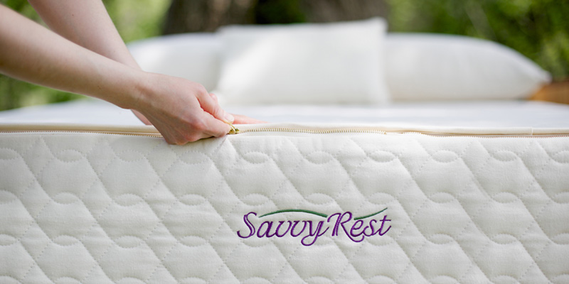 Savvy Rest organic latex mattress