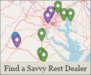Find a Savvy Rest dealer