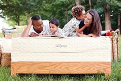 Serenity organic mattress from Savvy Rest
