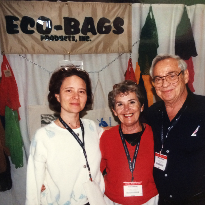 Sharon Rowe started ECOBAGS in 1989.