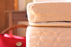 Natural latex mattress topper from Savvy Rest