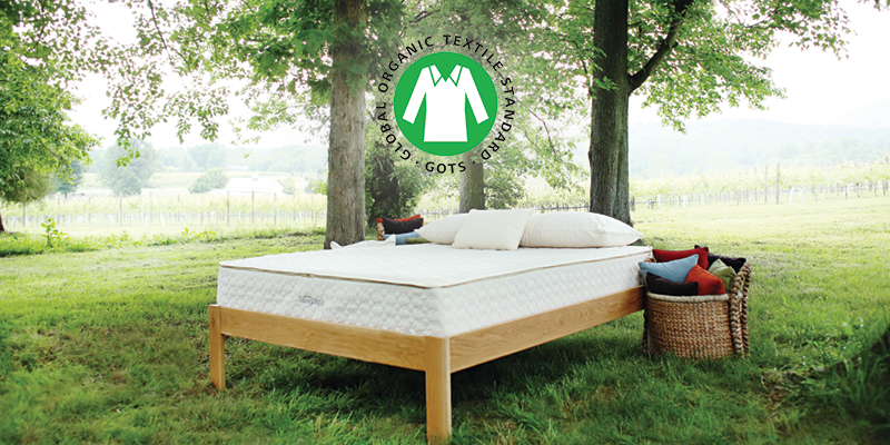 GOTS certified mattresses from Savvy Rest