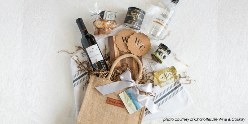 charlottesville wedding local gift bags