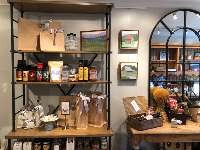 Charlottesville Wine & Country Shop local gifts for weddings