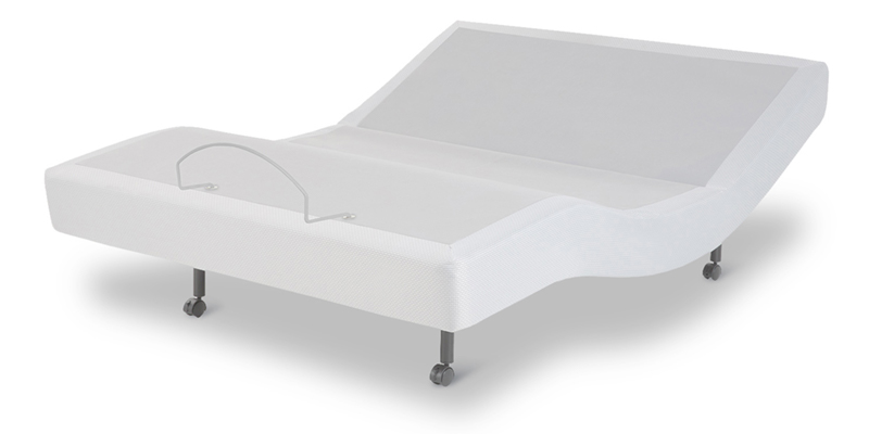 using an adjustable bade with an organic latex mattress