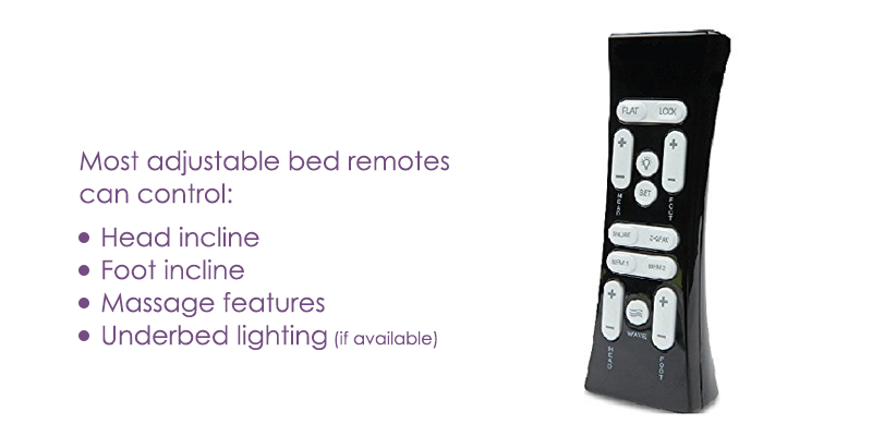 adjustable bed functions