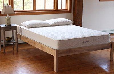Savvy Rest natural platform bed
