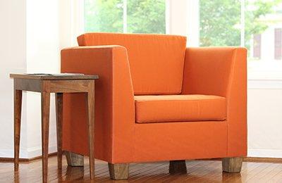 organic armchair