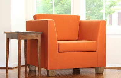 organic armchair by Savvy Rest