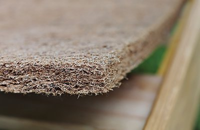 natural bed rug mat