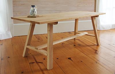 hardwood indoor bench