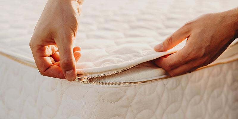A customizable mattress.