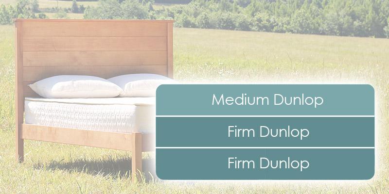 Organic mattress with natural latex.
