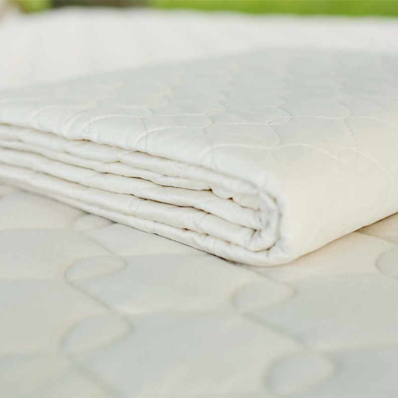 natural cotton mattress pad