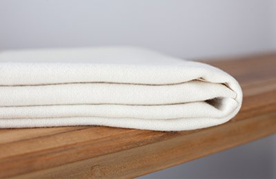 natural wool crib pad