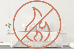 flame retardant-free mattress
