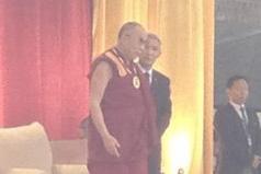 The Dalai Lama in Charlottesville, Virginia