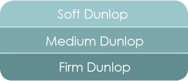 Organic Dunlop latex mattress for a medium feel