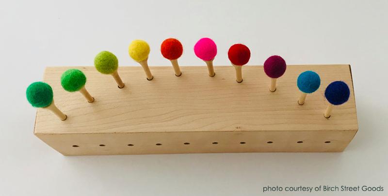 montessori crafts by Birch Street Goods