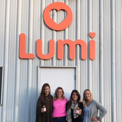 Lumi was founded in Charlottesville, VA