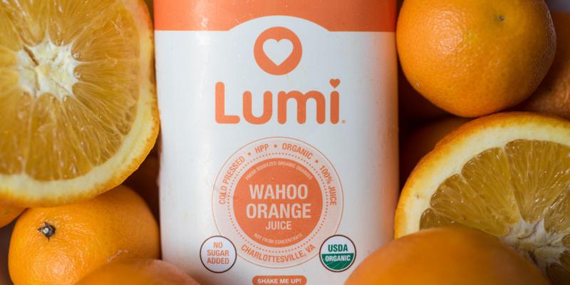Lumi organic juice