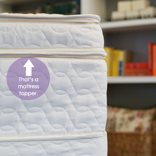 organic mattress toppers for added comfort