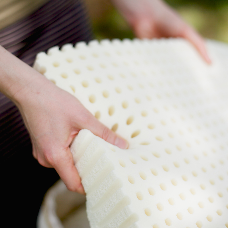 Savvy Rest organic mattresses contain layers of natural latex