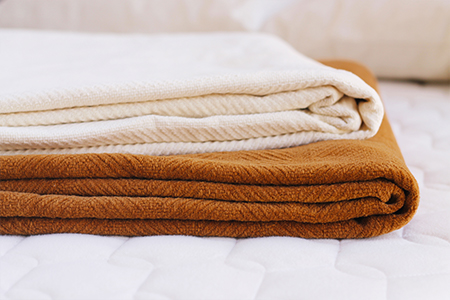 Organic Cotton Blankets Made From Color Grown Cotton