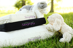 Organic pet beds from Savvy Rest