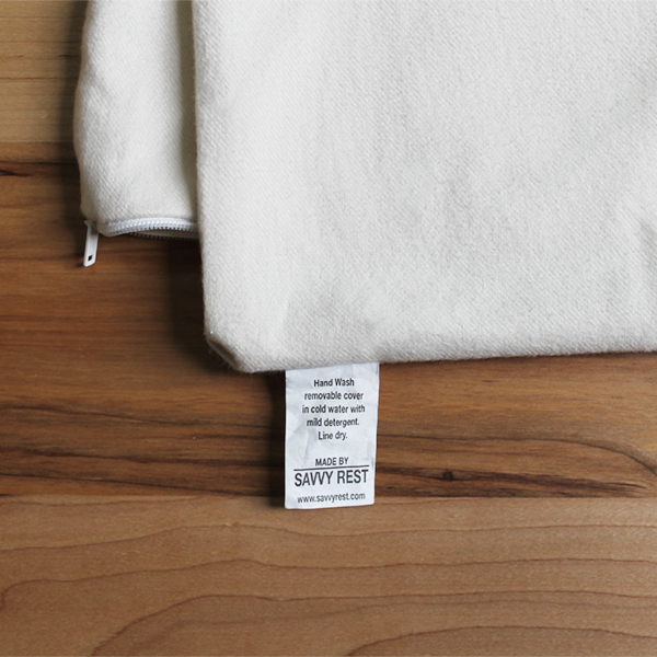 organic cotton flannel pillowcase