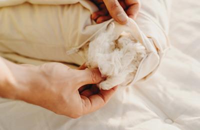 adjustable organic kapok pillow