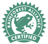 Rainforest Alliance-certified Talalay latex