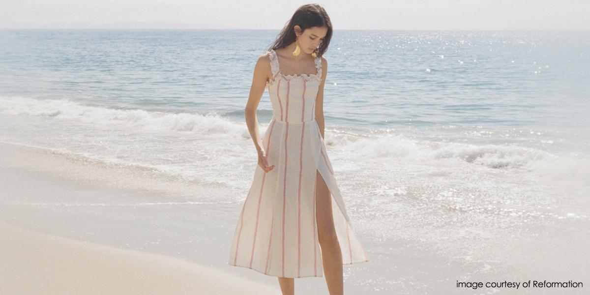 Reformation sustainable fashion