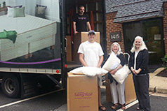 Pillow donations from Savvy Rest