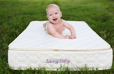 The Savvy Baby organic crib mattress