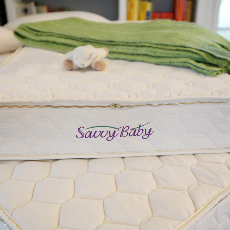 organic baby mattress from Savvy Rest