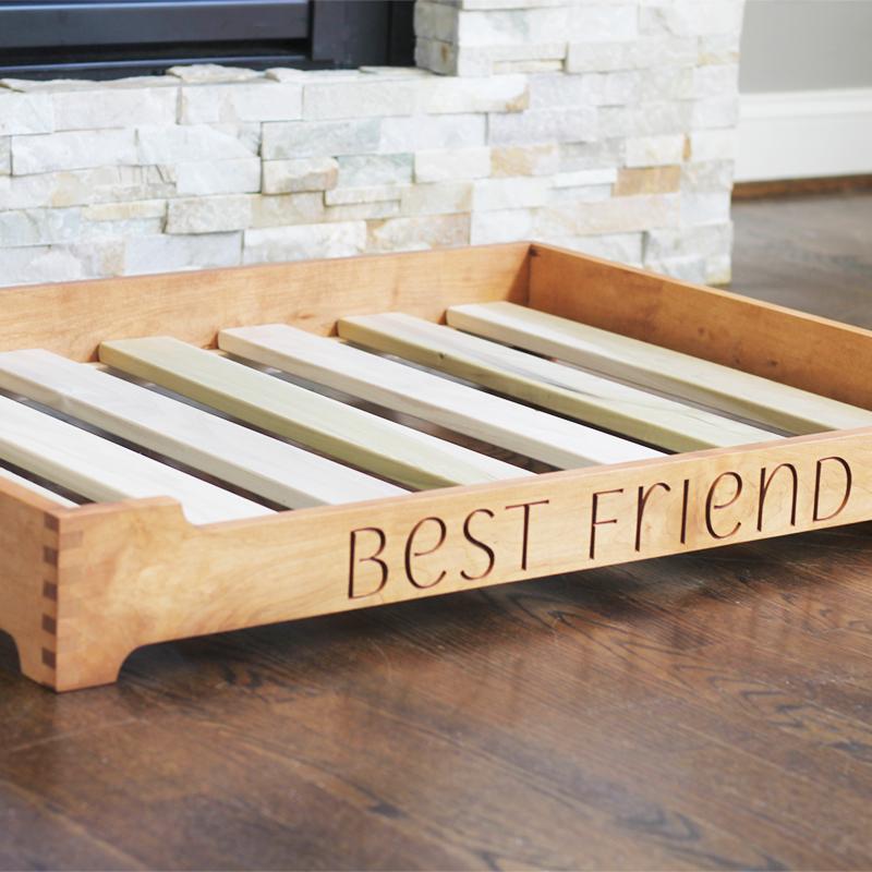 customizable dog bed